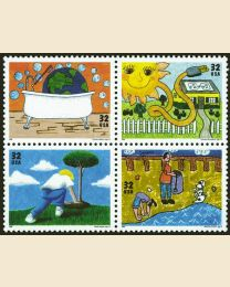 #2951S - 32¢ Earth Day