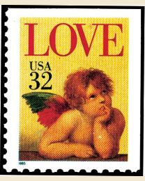 #2959 - 32¢ Love: Cherub booklet