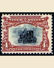 # 296 - 4¢ Electric Automobile