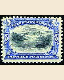 # 297 - 5¢ Niagara Falls Bridge