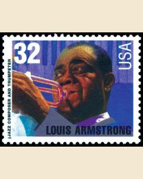 #2982 - 32¢ Louis Armstrong