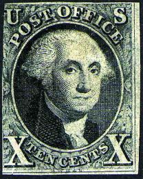 #2 - 10¢ Washington