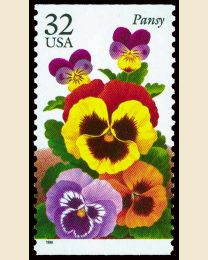 #3027 - 32¢ Pansy
