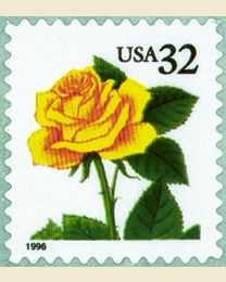 #3049 - 32¢ Yellow Rose