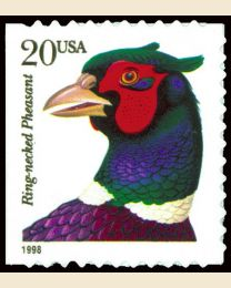 #3050 - 20¢ Ring-Neck Pheasant