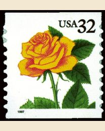 #3054 - 32¢ Yellow Rose