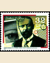 #3063 - 32¢ Frederic E. Ives