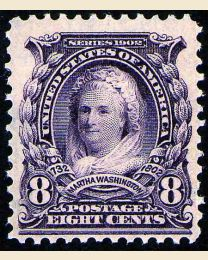 # 306 - 8¢ Martha Washington