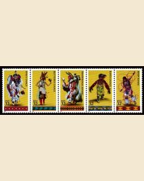 #3072S - 32¢ Indian Dances