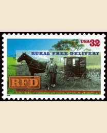 #3090 - 32¢ Rural Free Delivery (RFD)