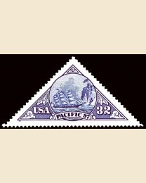 #3130 - 32¢ Ship (triangle)