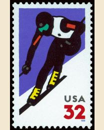 #3180 - 32¢ Alpine Skiing