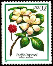 #3197 - 32¢ Pacific Dogwood