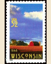 #3206 - 32¢ Wisconsin Statehood