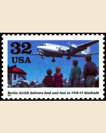 #3211 - 32¢ Berlin Airlift