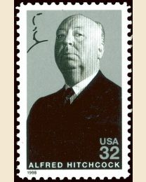 #3226 - 32¢ Alfred Hitchcock
