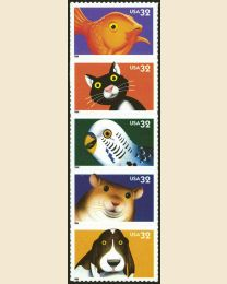 #3230S - 32¢ Bright Eyes Pets