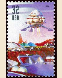 #3239 - 32¢ Flying Space Craft