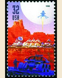 #3241 - 32¢ Astronaut & Space Mobile