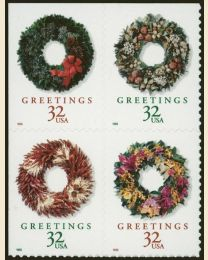 #3249S - 32¢ Wreaths self-adhesive