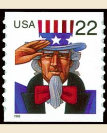 #3263 - 22¢ Uncle Sam