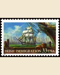 #3286 - 33¢ Irish Immigration