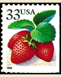 #3296 - 33¢ Strawberries