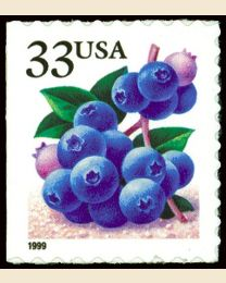 #3298 - 33¢ Blueberries
