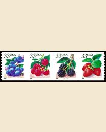 #3302S - 33¢ Berries set of 4
