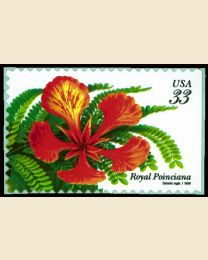 #3311 - 33¢ Royal Poinciana