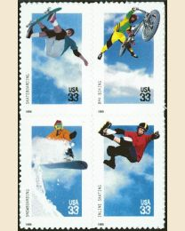 #3321S - 33¢ Extreme Sports