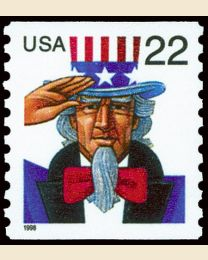 #3353 - 22¢ Uncle Sam