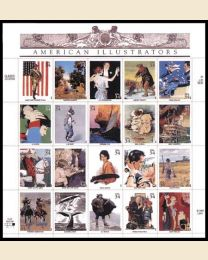 #3502 - 34¢ American Illustrators