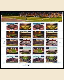 #3510S - 34¢ Legendary Ballparks