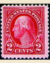 # 554 - 2¢ Washington