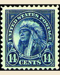 # 565 - 14¢ American Indian
