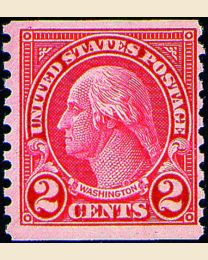 # 599A - 2¢ Washington
