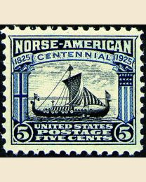 # 621 - 5¢ Viking Ship