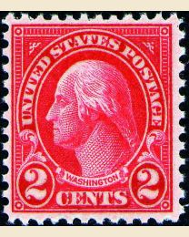 # 634 - 2¢ Washington