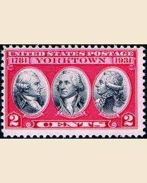 # 703 - 2¢ Battle of Yorktown