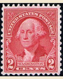 # 707 - 2¢ Washington