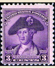 # 708 - 3¢ Washington
