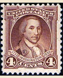 # 709 - 4¢ Washington