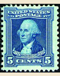 # 710 - 5¢ Washington