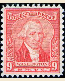 # 714 - 9¢ Washington