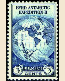 #733 - 3¢ Byrd Expedition