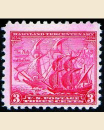 #736 - 3¢ Maryland Tercentenary
