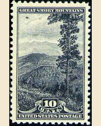 # 749 - 10¢ Great Smoky Mountains