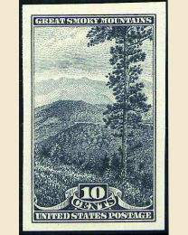 #765 - 10¢ Great Smoky Mtns.
