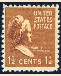 # 805 - 1 1/2¢ Martha Washington